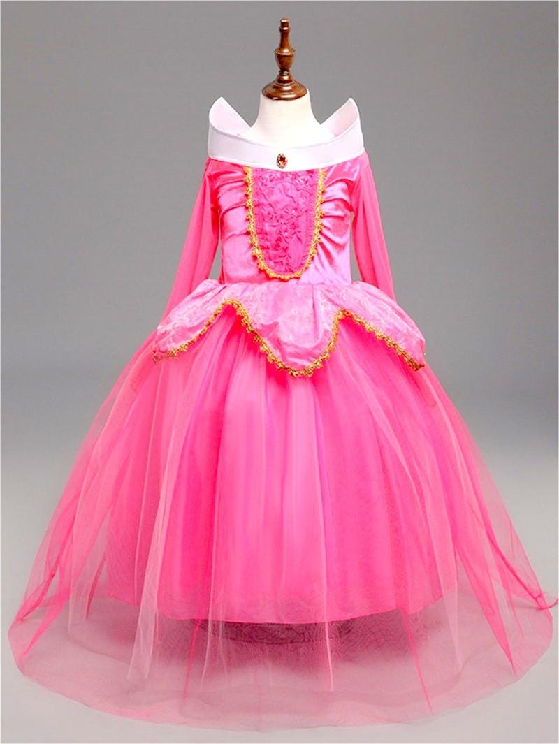 Спящая красавица платье принцесса Аврора розовое