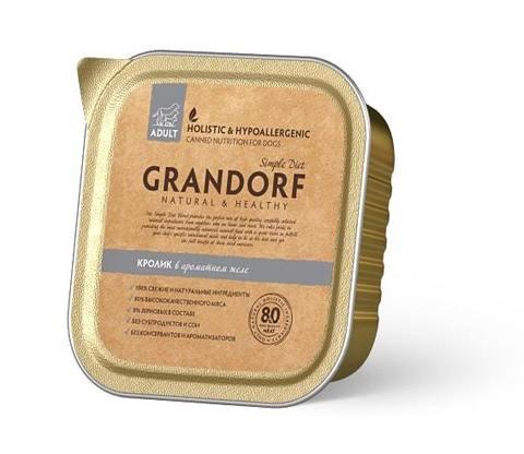 Консервы (ламистеры) Grandorf Canned Rabbit Adult All Breeds