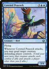 Coveted Peacock (Фойл, Английский)
