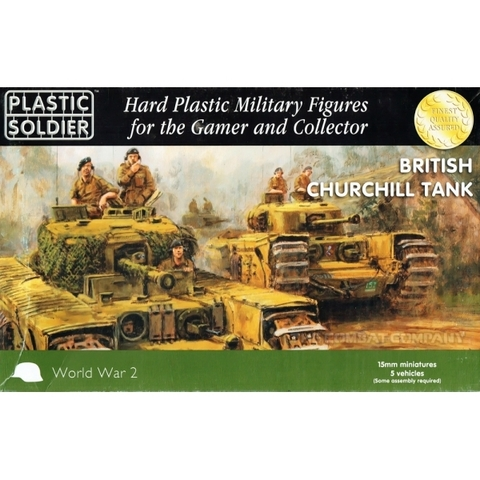 15mm Churchill Tank