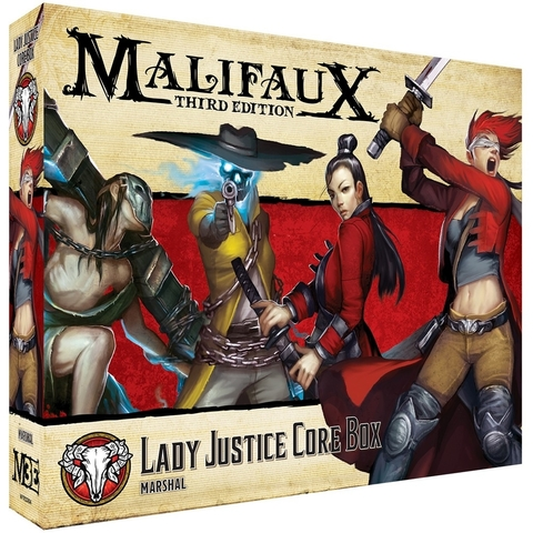 M3E Lady Justice Core Box