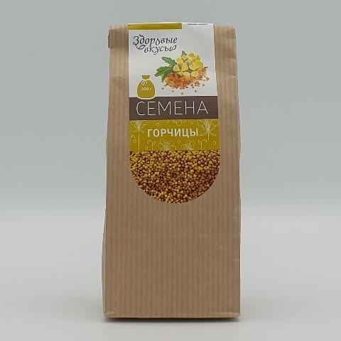 Семена горчицы ЗДОРОВЫЕ ВКУСЫ, 200 гр