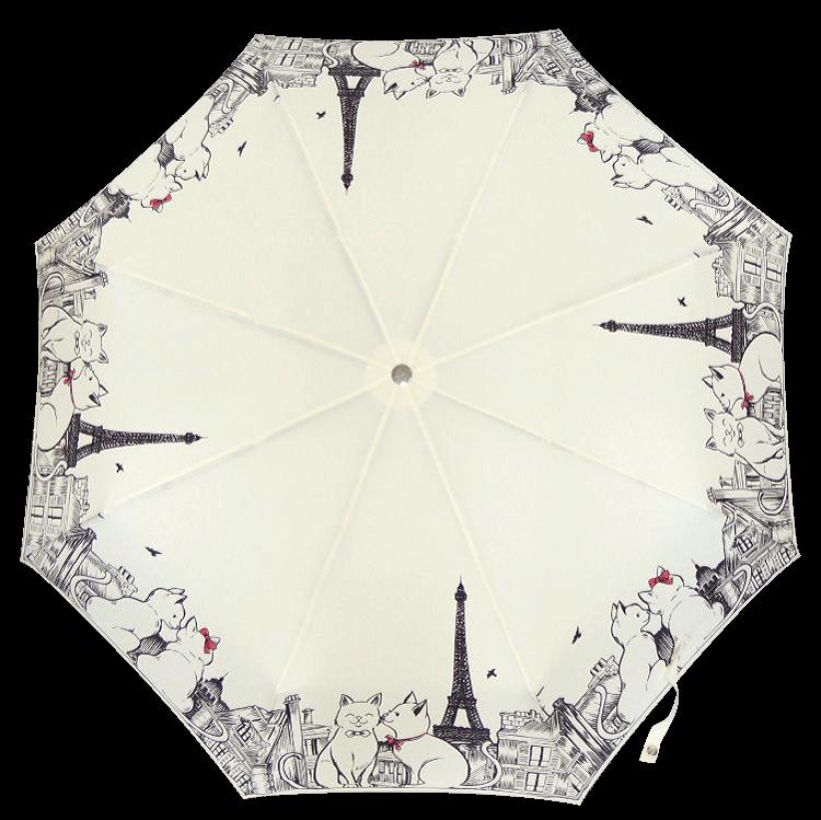 Зонт складной Guy de Jean 3407-1 Câlin Câline