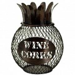 Декоративная емкость для винных пробок Boston Warehouse Pineapple