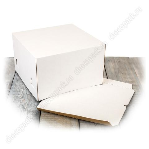 Короб 30 х 30 х 19 см для тортов до 3 кг
