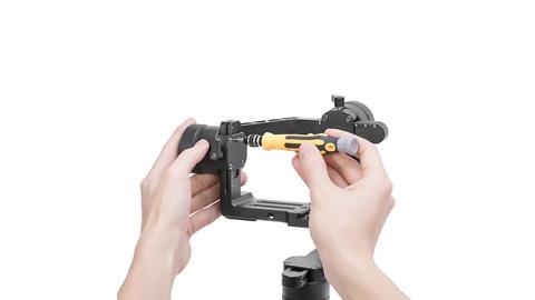 Увеличивающая площадка на Zhiyun Crane 2 для Canon 1DX