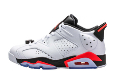 Air Jordan 6 Low 'White Infrared'