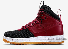 Кроссовки Мужские Nike Lunar Force 1 DUCKBOOT Black Burgundy