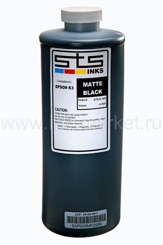 Чернила STS UltraChrome XD для Epson SureColor T-Series, черные матовые (Matte Black), 1000 мл