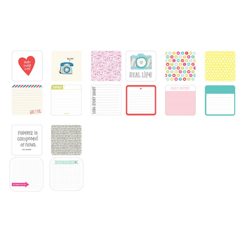Набор карточек  High five для Project Life