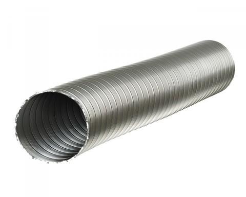 Полужесткий воздуховод из нержавеющей стали ф200 (1м)