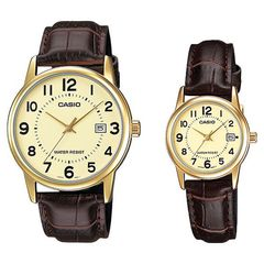 Парные часы Casio Standard: MTP-V002GL-9BUDF и LTP-V002GL-9BUDF