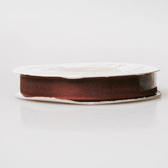 Лента органза OR-10 шоколад