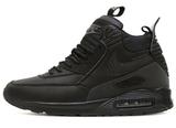 Кроссовки Мужские Nike Air Max 90 Sneakerboot All Black ( с Мехом)