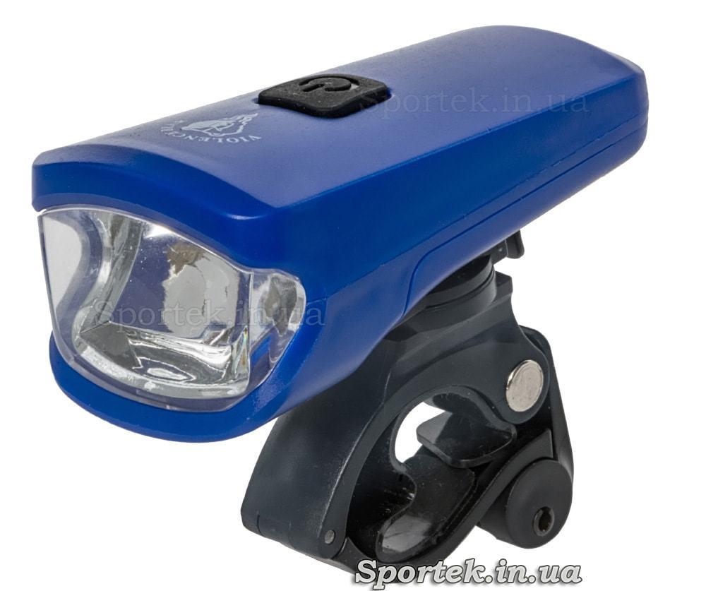Передний трехрежимный велосипедный фонарь (HYD-010)
