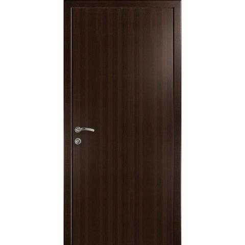 Дверь гладкая влагостойкая венге