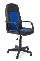 Кресло компьютерное Парма (Parma) — черный/синий (36-6/36-39)