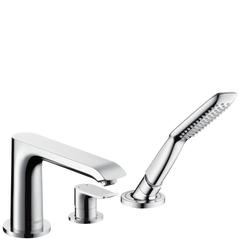 Смеситель на борт ванны 3 отв. Hansgrohe Metris 31190000