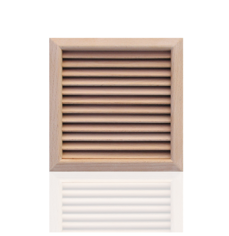 Деревянная решетка First LGES160F бук 160х160
