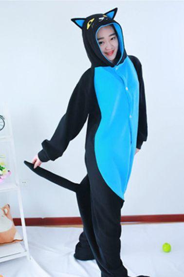 Пижамы кигуруми Ночной кот (голубой) Clipboard15.jpg