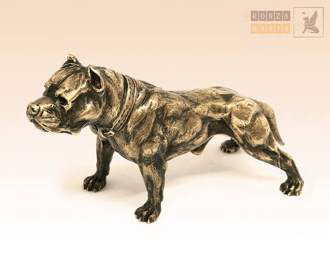 статуэтка Собака Питбуль