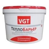 Краска ВГТ ТеплоБарьер теплоизоляционная белая 9л (5кг)