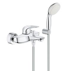 Смеситель для ванны с душевым набором Grohe Eurostyle New 3359230A фото
