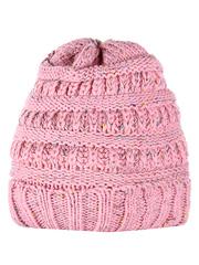 HT1813-3 шапка женская, розовая