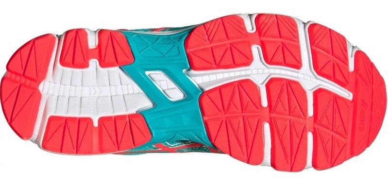 Детские-подростковые кроссовки для бега Asics GT-1000 4 GS (C558N 3920) бирюзовые фото