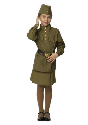 Военная форма детская Солдатка