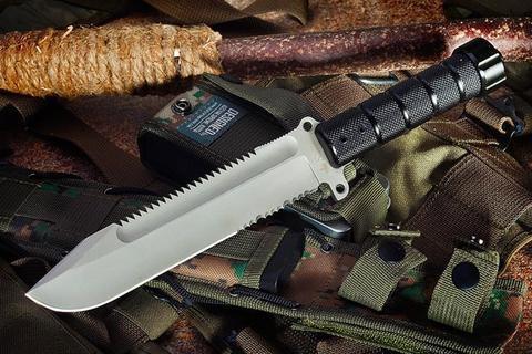 Охотничий нож Survivalist AUS-8 Bead Blast