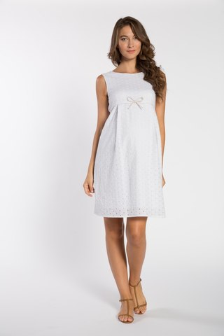 Платье для беременных 05657 белый