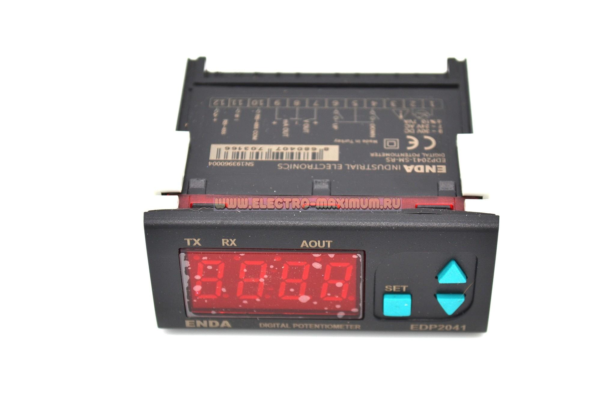 Цифровой потенциометр ENDA EDP2041-230VAC