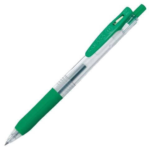 Ручка гелевая Zebra Sarasa Clip 0.4 Green
