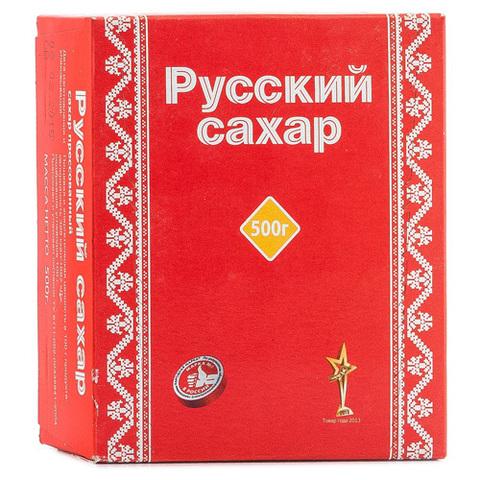 "Сахар прессованный ""Русский сахар"" 0,5 кг"
