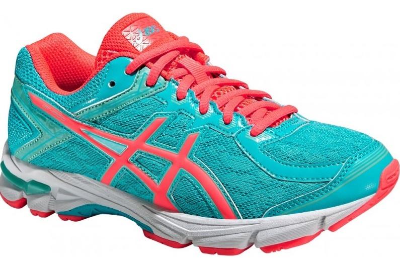 Детские-подростковые кроссовки для бега Asics GT-1000 4 GS (C558N 3920) бирюзовые