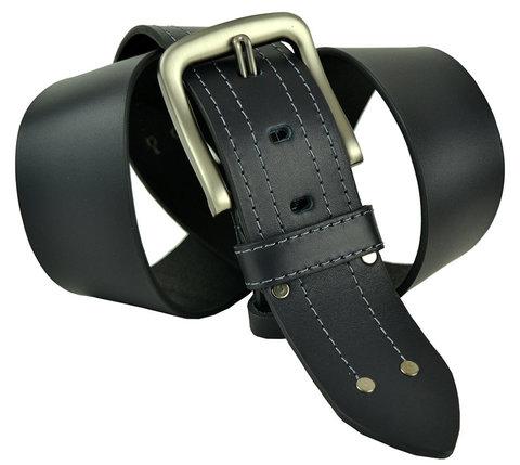 Мужской кожаный широкий ремень 50millen-002