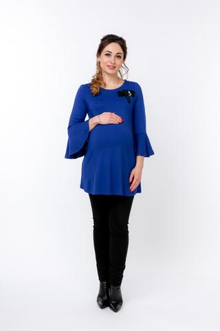 Блузка 09006 синий