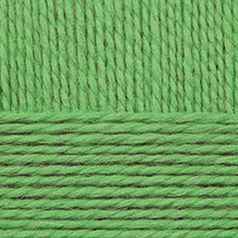 Пряжа Мериносовая (Пехорка) 434 зеленый
