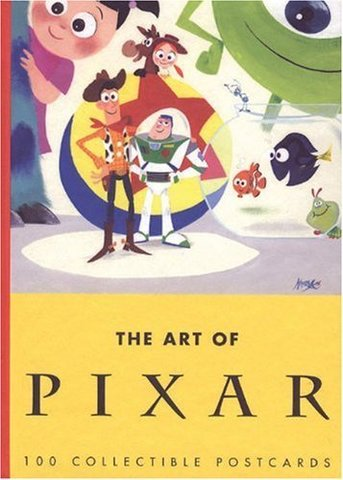 Набор открыток The Art of Pixar: 100 Collectible Postcards