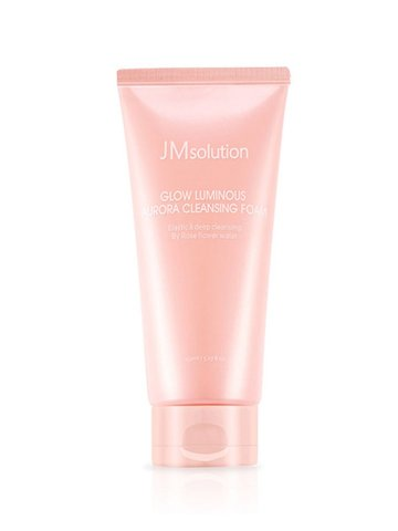 Jm Solution пенка для умывания  GLOW LUMINOUS AURORA CLEANSING FOAM 1шт