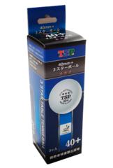 Мячи пластиковые TSP 3* 40+ (3 шт.)