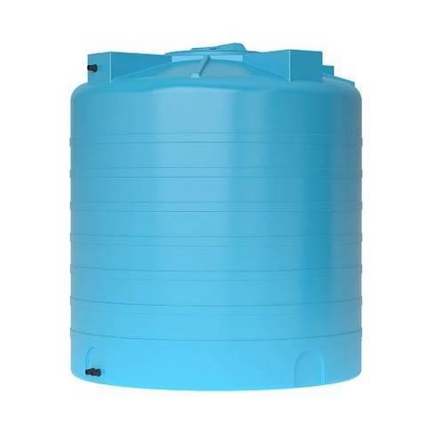 Бак для воды АКВАТЕК ATV 1500 (с поплавком, цвет синий)
