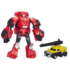 Набор из 2 Роботов Трансформеров Клиффджампер и Супрессор (Cliffjumper and Suppressor) - Поколение, Hasbro