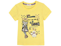 702-13 футболка детская, желтая