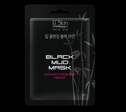 El`Skin ES-911 Black Line Черная грязевая маска 10г