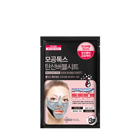 Маска MEDIHEAL Mogongtox Soda Bubble Sheet 18ml 1 шт.