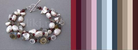 варианты цветов для одежды под браслет