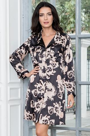 Короткая платье-рубашка Mia-Mella 9937 VERSACHI_GOLD