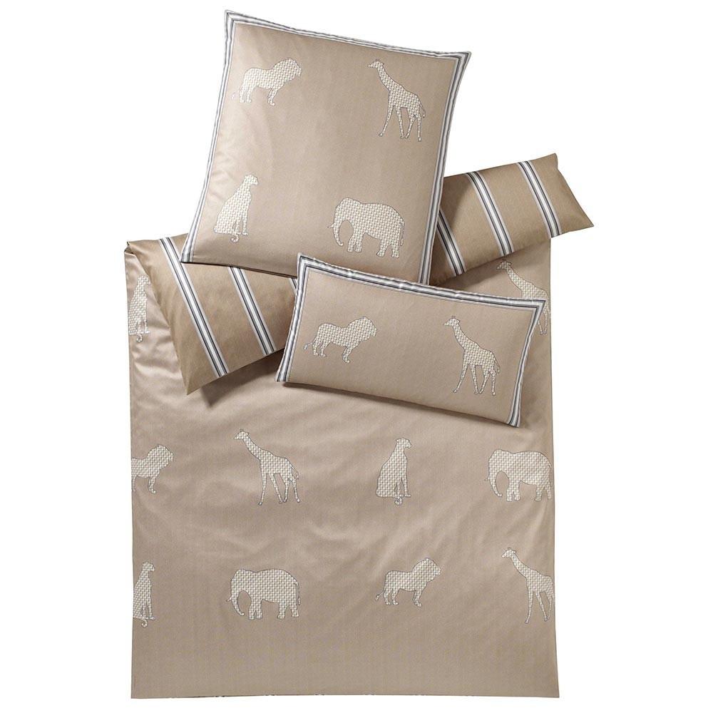 Постельное белье 1.5 спальное Elegante Savanne песочное